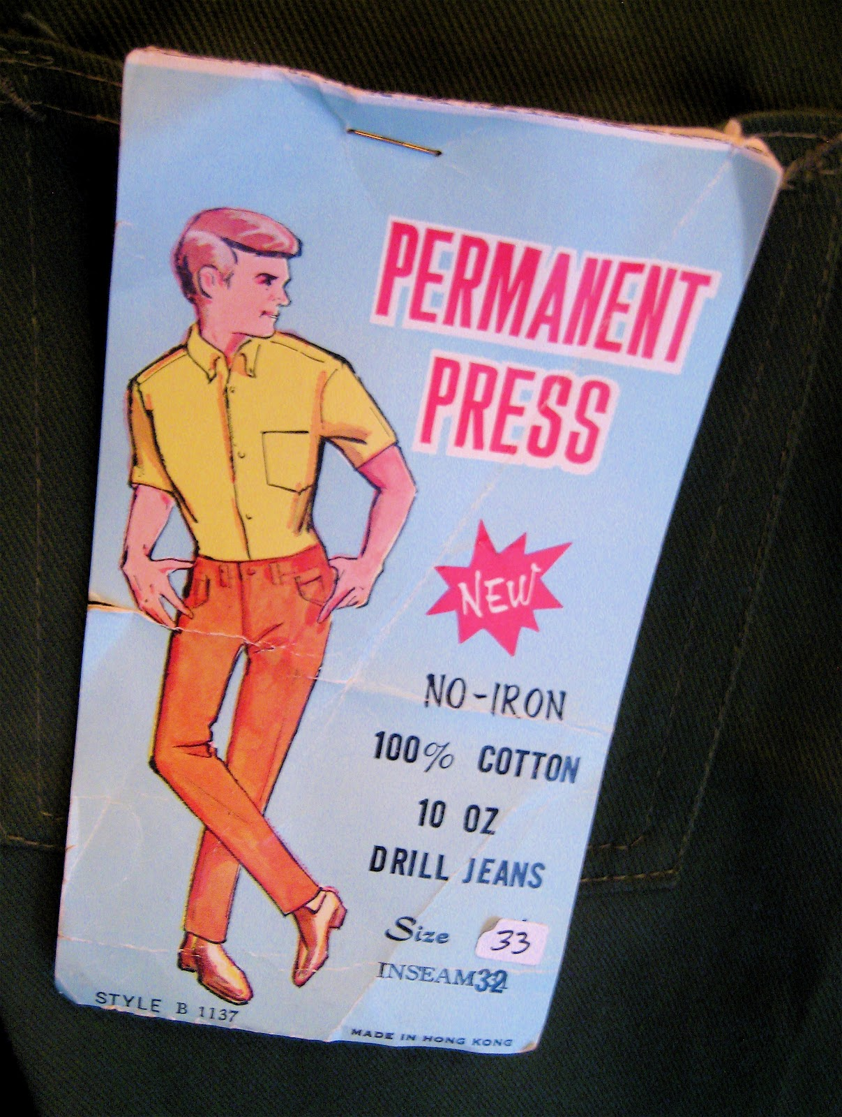 Permanent Press 60s Trousers
